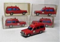 Wiking 1:87 Mercedes Benz 220 /ß KTW Feuerwehr OVP - 5 Stück im Händlerkarton