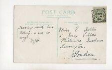 Wadebridge 4 Oct 1905 Squared Circle Postmark 405b