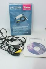 Tevion DVD maker copy VHS video camcorder tapes to PC computer