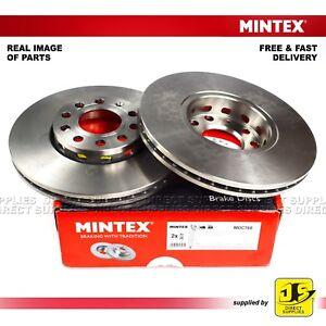 AUDI 100 A4 A6 SEAT EXEO EXEO ST VW PASSAT  MINTEX FRONT DISC BRAKES MDC768 PAIR