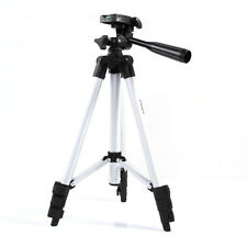 Pro Aluminium Camera Tripod +3-Way head for Nikon D7000 D5100 D5200 D90 Silver
