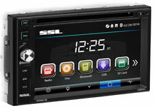 SOUNDSTORM Double DIN Bluetooth Car Stereo DVD/CD Player 6.2 Touchscreen Monitor