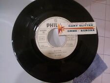 "7"" PROMO + STICKER LE ORME SORONA GARY GLITTER I LOVE YOU YOU LOVEME VG+/ EX"