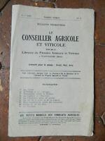 Boletín Trimestral El Consejero Granja Y Zona 1929