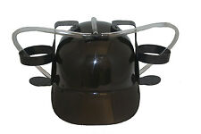 BLACK DRINKING HAT ,  FOR ADULTS & KIDS .. NEW