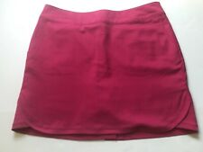 Zero Restriction Size 10 Hot Pink Athletic Skirt Built In Shorts
