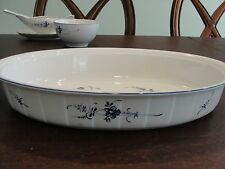 """Villeroy Boch Vieux Luxembourg Oval Baker 13 7/8"""" By 2 1/2"""""""