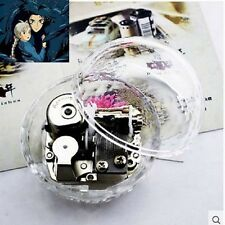 Gorgerous Clear Oracle shape Music Box : Ghibli Howl's Moving Castle Soundtrack