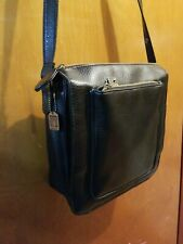 Relic Purse, Organizer, Handbag, Crossbody, Shoulder Bag, Black leather