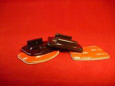 ActionCam Klebepad Grundplatte 1 gebogen Helm 1x gerade Gopro Hero Rollei SJCAM
