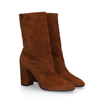 Neu! €679 Aquazzura Saint Honore Boots Booties Stiefeletten Black or Brown