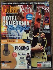 GUITAR TECHNIQUES +CD Feb 2011 EAGLES HOTEL CALIFORNIA Gary Moore GLENN FREY New