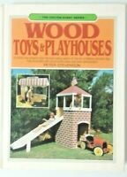 The Chilton Hobby Series Wood Toys Craft Book Playhouses by Peter Stevenson 1985