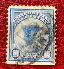 Us Registration Stamp #F1 10c blue Eagle Used