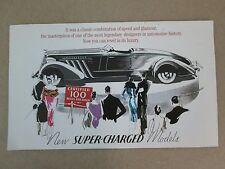 Franklin Mint Brochure 1935 Auburn 851 Boattail Speedster