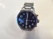 Men's Chronograph Adee Kaye Collection Stainless Steel Watch - AK1057-M