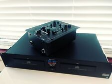 Gemini-Model-PMX-7-Preamp-Mixer-& Gemini DUAL CD PLAYERPRO IlI CD-9500