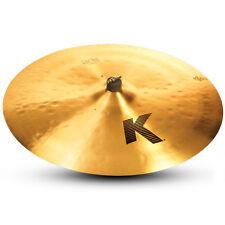 "Zildjian K0834 24"" Light Ride Drumset Cymbal Med Bell Size & Dark Sound - Used"