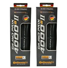 x2 Continental Grand Prix 4000S II 700 x 25C 25-622 Road Bike Tires Tyres (BOX)