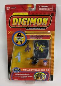 Digimon Season Four Collectable Set 52 PVC Figure Set Yokomon Bandai New