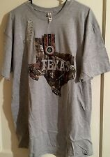 Real Tree Texas T-shirt Size Xl Mens Camo Gray