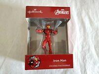 Hallmark 2018 Iron Man Avengers Red Box Christmas Ornament
