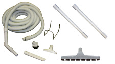 Central Vacuum Home Auto Care Garage Kit w/Hose Wands & Attachments Beam Vacuflo