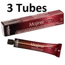 3 Tubes L'Oreal Professional Majirel,Majirouge, Majiblond Permanent Colour 50ml