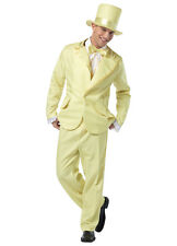 Men's Funky Yellow Tuxedo Adult Costume Rasta Imposta Tux
