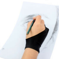 Two Finger Anti-fouling Glove Gloves Drawing & Pen Graphic Tablet Pad For Artist