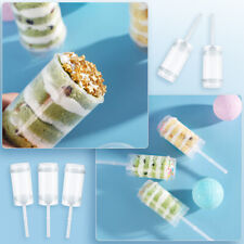 Plastic Push Pop Containers Cake Poppers Up Shooters Cupcake Accessories