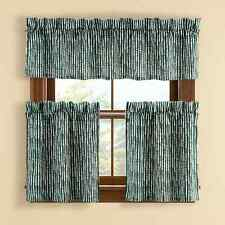 Brielle Home Boulder Pine Window Tier Pairs