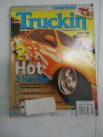 TRUCKIN' MAGAZINE JULY 2001 PAINTING LESSONS 101 MINI CLASSIC TRUCKIN BOW TIES