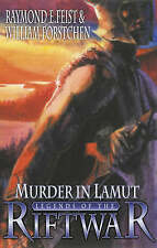 Murder in Lamut legends of the riftwar  joel rosenburg raymond feist hardback