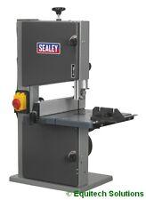 "Sealey Tools SM1303 Wood Band Saw 200mm 8"" Woodworking Tilt Table Mitre Gauge"