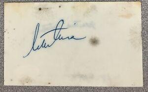 Martina Navratilova Signed Index Card 3x5 Autograph Tennis HOF Grand Slam JSA