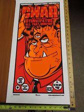 2004 Rock Roll Concert Poster Gwar Dying Fetus Martin SN LE#100 Newport