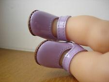 Chaussure rouge pour poupée corolle poupon bebe Calin Maria fleurs Mila 30 cm