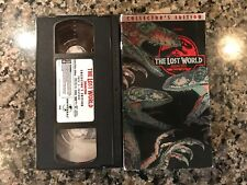 The Lost World Jurassic Park 2 Tape Vhs! Collectors Edition!