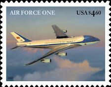 2007 $4.60 Air Force One, Priority Mail, Boeing 747-200B Scott 4144 Mint F/VF NH