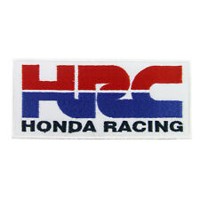 HRC HONDA RACING Logo Embroidered Iron On Patch #PHD051