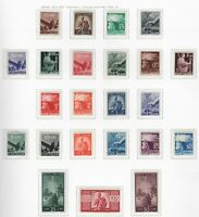 ITALIA ITALY MNH 1945 Democratica Definitives 23v     s32144  n 3 scans   NOTE
