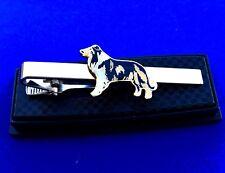 Collie Tie Clip Dog Logo Rough Collie Tie Clasp Tie Clip Gift Idea (New)