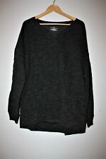 BOBBIE BROOKS Plus size 1X High Low Tunic, pullover, shirt Black Long sleeve