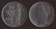 100 LIRE 1971 MINERVA - ITALIA FDC/UNC FIOR DI CONIO
