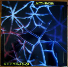 """Mitch Ryder - """"In The China Shop"""" LP White Vinyl 1986 Line Records Germany press"""