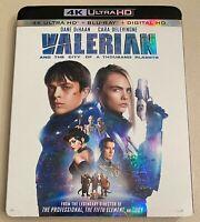 Valerian & the City of a 1000 Planets [2017] 4K UHD+Blu-ray+Digital w/ Slipcover