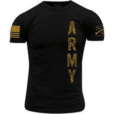 Grunt Style Army - Vertical T-Shirt - Black