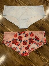 Victoria's Secret PINK Super Soft Hipster Lot Of 2 - L Large - NWT