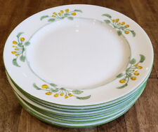 "Set of 10 *  Royal Gustafsberg 1232 Primula -- 8-1/2"" Luncheon Plates Plate Set"